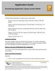 Resurfacing Application: Epoxy Contact Molds - Hawkeye Industries