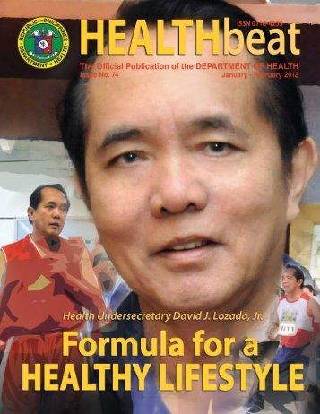 Health Beat Issue No. 74 January - February 2013 - DOH