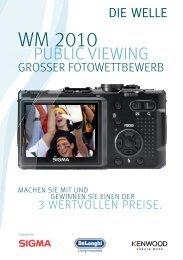 WM 2010 Gewinnspiel - Die Welle