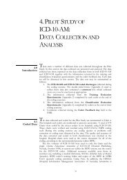4. pilot study of icd-10-am: data collection and analysis - ESRI