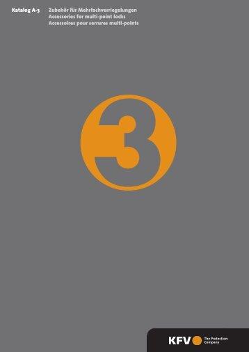 Katalog A-3 Zubehör für Mehrfachverriegelungen Accessories for ...