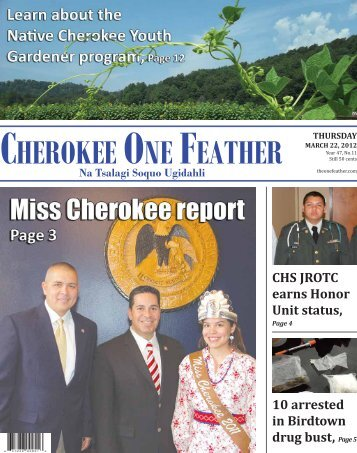 March 22, 2012 - The Cherokee One Feather
