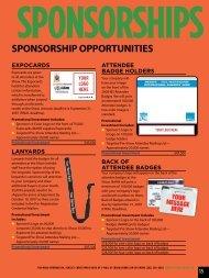 SPONSORSHIP OPPORTUNITIES - International Builders' Show
