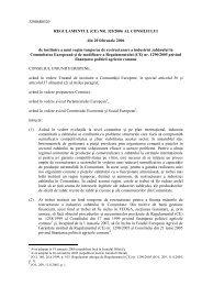 32006R0320 REGULAMENTUL (CE) NR. 320/2006 AL ... - apia