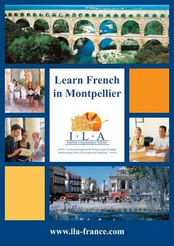 Télécharger notre brochure - ILA