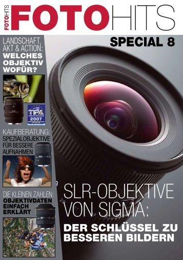 SLR-OBJEKTIVE VON SIGMA: - SIGMA Deutschland GmbH