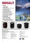 SLR-OBJEKTIVE VON SIGMA: - SIGMA Deutschland GmbH - Seite 2