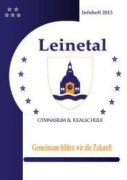 Infoheft 2013 - Leinetalschulen privates Gymnasium und private ...