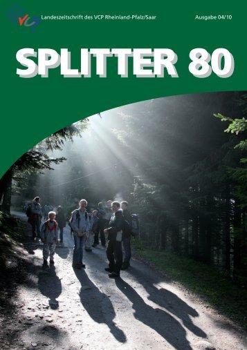 Splitter 4/2010 - VCP Land Rheinland-Pfalz/Saar