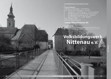 Allgemeine Hinweise - Volksbildungswerk Nittenau