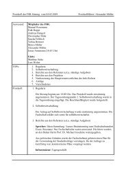 Protokoll der FSR-Sitzung vom 04.02.2009 Protokollführer ... - FSE