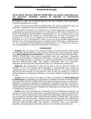 nom-011-secre-2002 - Secretaría de Energía