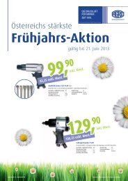 Frühjahrs-Aktion - AGRE Kompressoren