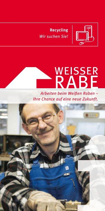 Flyer für Bewerber ca. 120 kb - Weisser Rabe