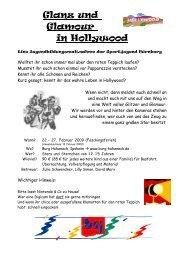 Glanz und Glamour in Hollywood - Bayerische Sportjugend BSJ ...