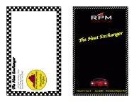 HE0605 (Read-Only) - Shenandoah Region Porsche Club of America