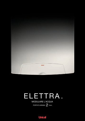 Caldaia Unical Elettra - Certened