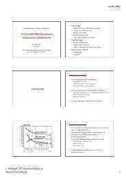 26/08/2005 J. Starkopf. TÜ anestesioloogia ja intensiivravi kliinik 1