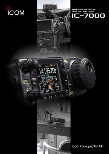 KOMPAKTER KW/VHF/UHF- ALLMODE-TRANSCEIVER