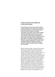 Laufen pro traduit «convivialité» par  «harmonieux design»