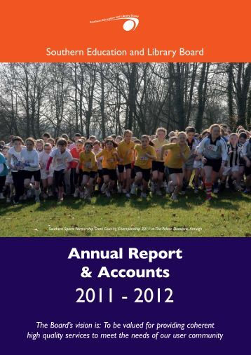 Annual Report & Accounts - Southern Education and Library Board