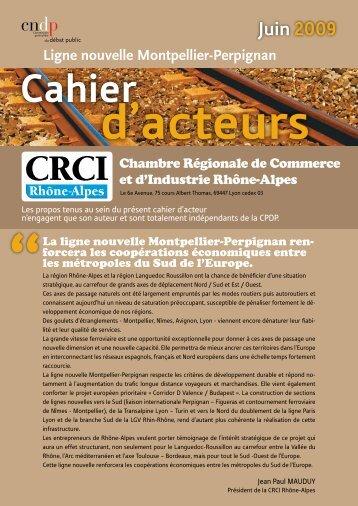 Ligne nouvelle Montpellier-Perpignan - Les Chambres de ...