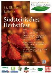 13. Oktober 2013 Leibnitz