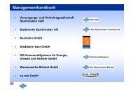 Prozessmodell der DIN EN ISO 14001 - Versorgungs- und ...
