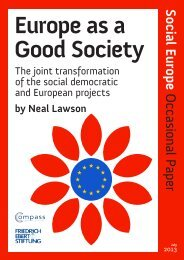 Europe as a Good Society - Social Europe Journal