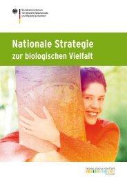 (BMU): Nationale Strategie zur biologischen Vielfalt - Biodiversität ...