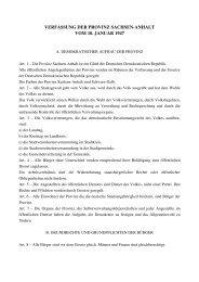verfassung der provinz sachsen-anhalt vom 10. januar 1947