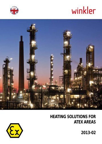 Heating solutions for ATEX areas