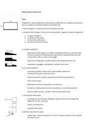 Tema Progettare un piccolo fabbricato a destinazione residenziale ...