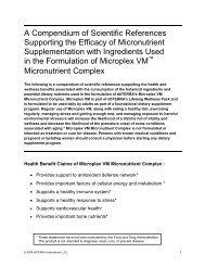 Microplex VM Scientific - dōTERRA - Essential Oils