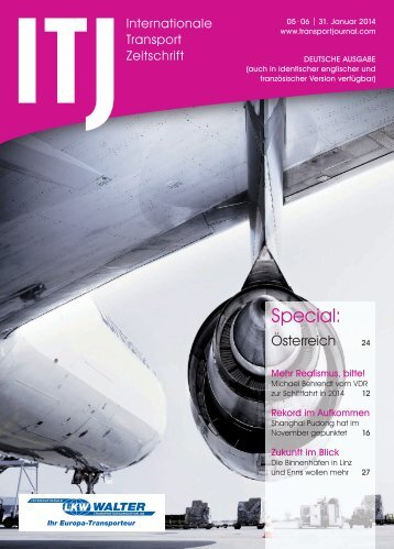 Special: - ITJ | Transport Journal