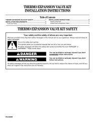 ALCO CONTROLS 1 THERMO ® EXPANSION VALVE     - Aer Tech