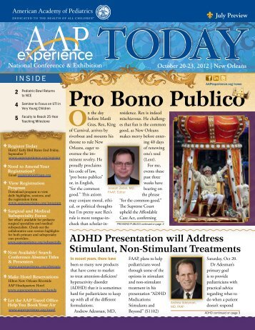 Pro Bono Publico - American Academy of Pediatrics National ...