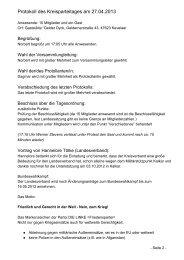 Protokoll des Kreisparteitages am 27.04.2013 - DIE LINKE ...