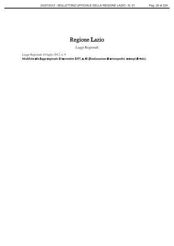 Regione Lazio - Comune di Alatri