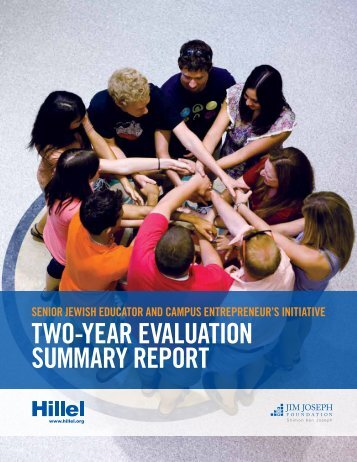 Hillel Two-Year Evaluation Summary Report