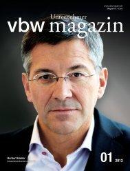 2012 - Vereinigung der Bayerischen Wirtschaft