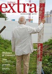 Wohnen extra 1 2011 doppelseiten - Wohnbaugenossenschaften ...