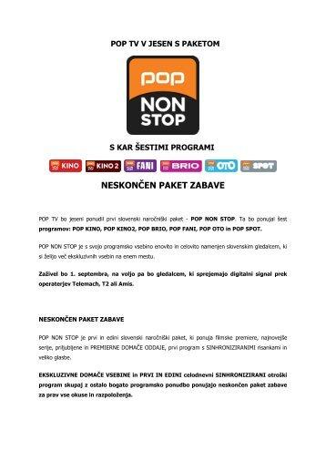 POP TV V JESEN S PAKETOM - 24 UR.com