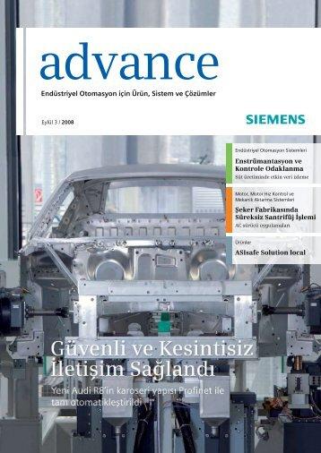 Endüstriyel Otomasyon için Ürün, Sistem ve Çözümler - Siemens