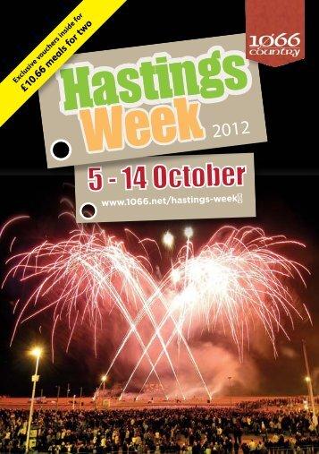 Hastings Week programme 2012 - Hastings Borough Council