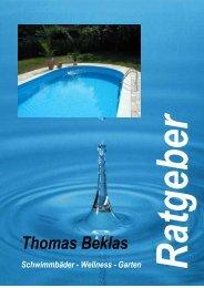 Wasserpflege Prospekt Thomas Beklas - Schwimmbäder-Wellness ...