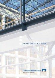 Jahresbericht 08 - Volksbank Mittelhessen