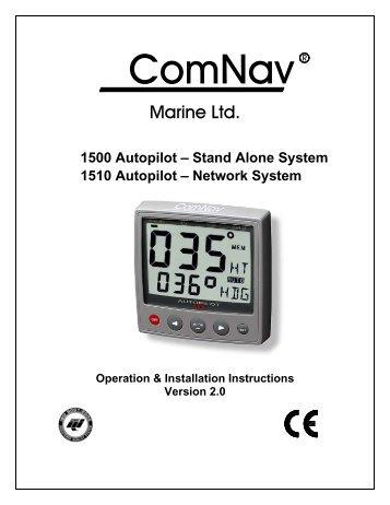 ComNav 1460 Autopilot ComNav 1440 Autopilot