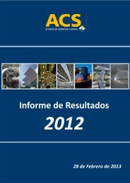 Informe de Resultados - Grupo ACS