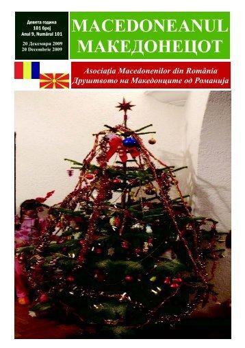 Ziar 101 decembrie 2009.pub - asociatia macedonenilor din romania